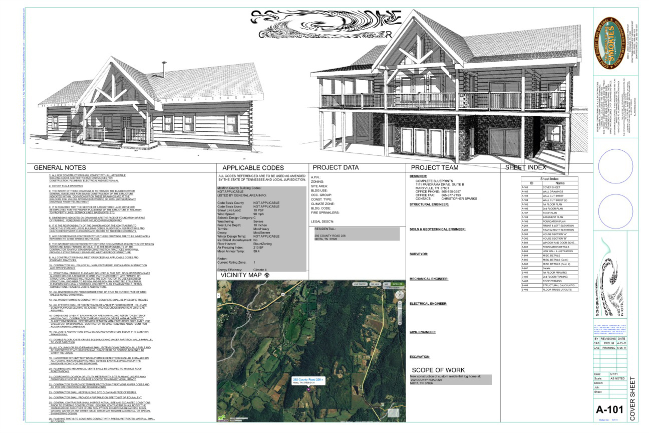 What is included in house plans complete blueprints cover sheet malvernweather Choice Image